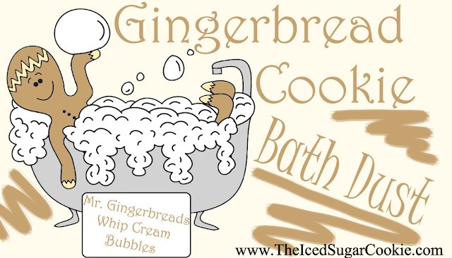 Christmas Gingerbread Bath and Body by The Iced Sugar Cookie Bath and Body