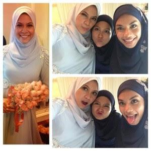 Gambar-Gambar Majlis Pertunangan Anak Gadis Rosyam Noor