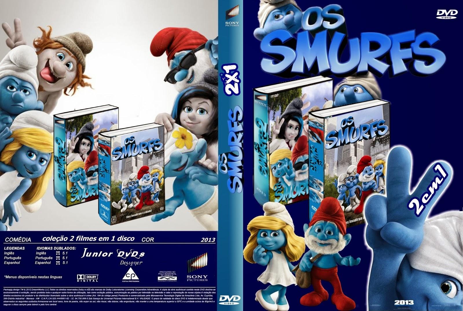 smølferne 2 dvd