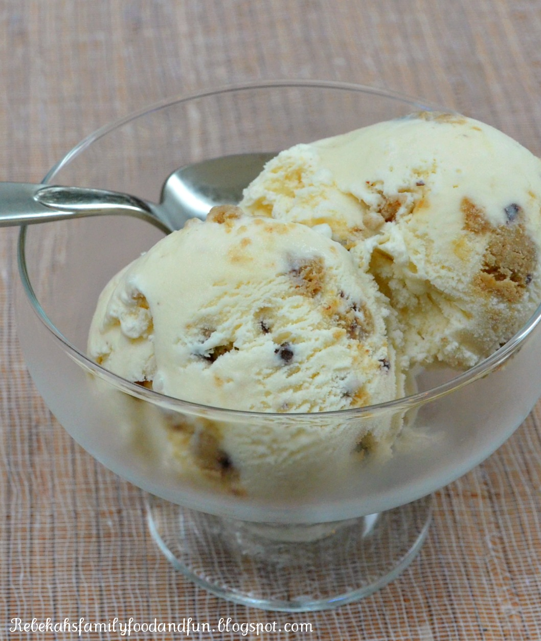 Family, Food, and Fun: Chocolate Chip Cookie Dough Ice Cream