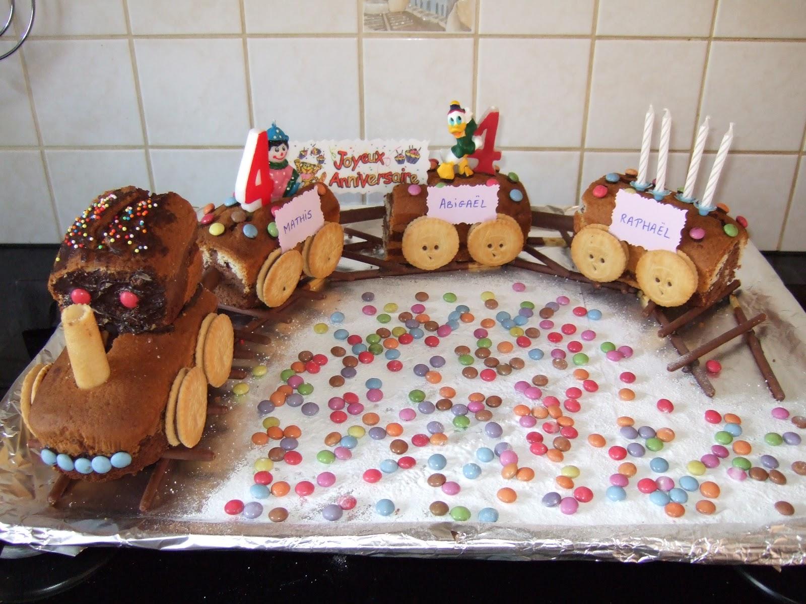 Bien-aimé Mélanie cuisine: Gâteau petit train RU15
