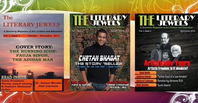 A literary bonanza - THE LITERARY JEWELS magazine