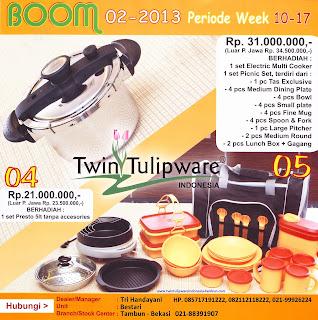BOOM Tulipware | Maret - April 2013