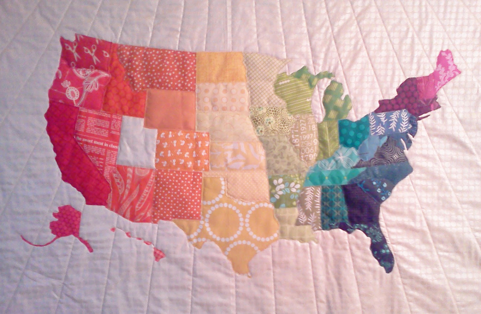 Crazy Old Ladies Quilts: Project --- ??? : map quilt pattern - Adamdwight.com