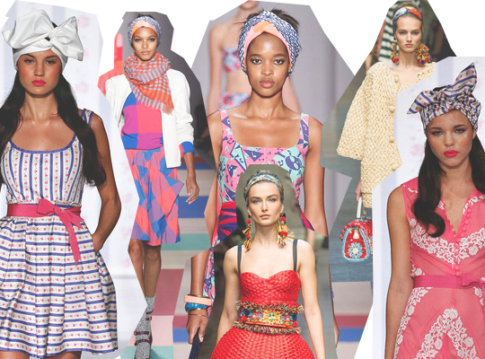 spring 2013 turban headwrap trend marc jacobs dolce gabbanna