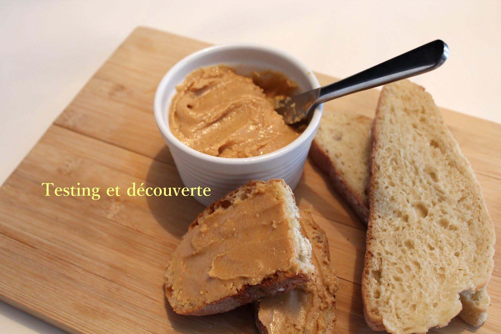 Testing et d couverte beurre d 39 arachide maison - Beurre d escargots maison ...