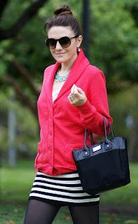 Gestreifte Röcke in Mode