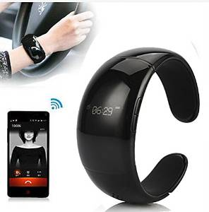 2015 New Fashion Men/women Bluetooth Smart Watch Wrist Wide Bracelet Phone for IOS Apple Iphone 4s/5/5c/5s/6 Android Samsung S2/s3/s4/s5/note 2/note 3 Blackberry Nexus HTC