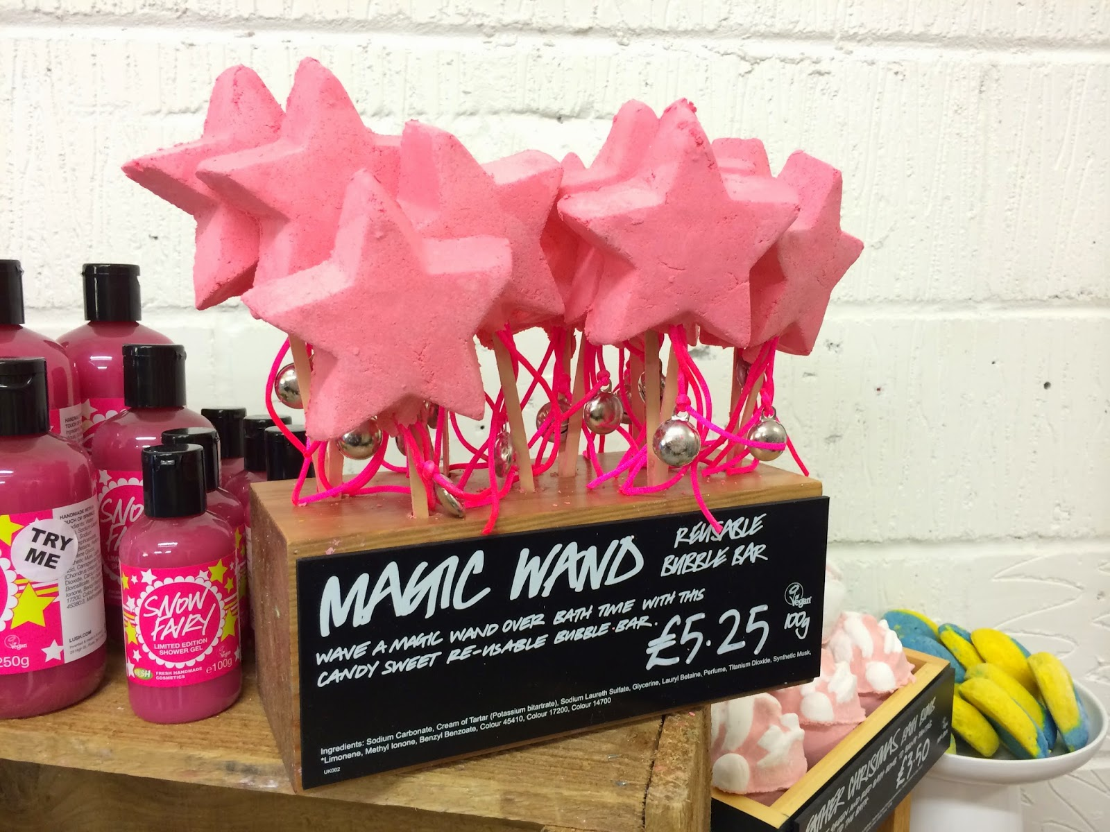 Magic Wand Bubble Bar by Lush Cosmetics