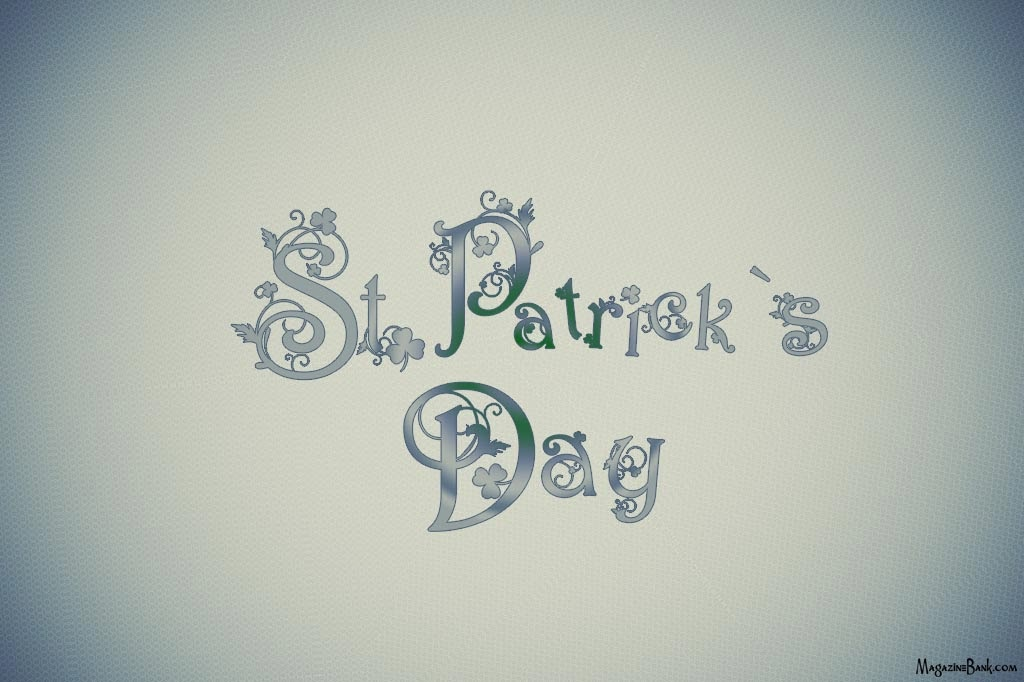 Happy Saint St Patrick's Day 2014 Wishes Greeting Cards Wallpapers