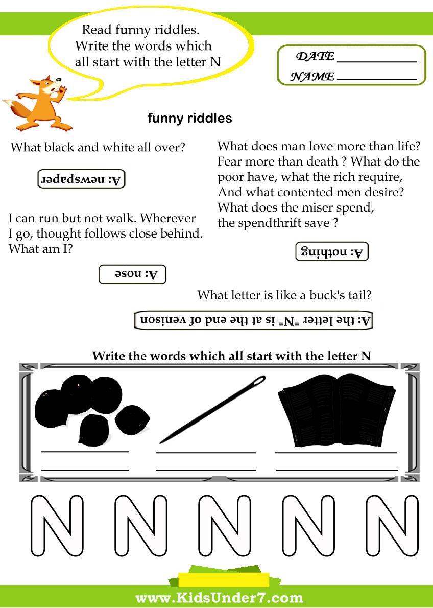 worksheet In On Over Under Worksheets workbooks in on over under worksheets free printable kids 7 letter n over