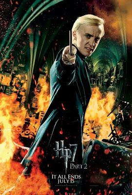 Harry Potter y las reliquias de la muerte. Parte 2. Poster Malfoy