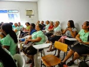 CEIFEIROS EM CONSAGRAÇÃO NO TEMPLO SEDE.