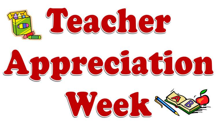teacher appreciation week california
