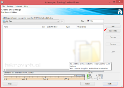 Cara Membuat File ISO Dari Data Folder 3