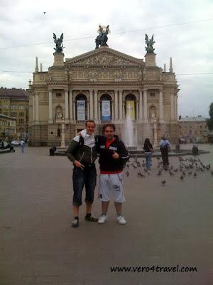 Ópera de Lviv, Oblast de Lvov, Ucrania