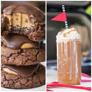 Buckeye Brownie Cookies and Cocktails - Delicious Dessert Recipes - Tuesday Talk Features - www.sweetlittleonesblog.com