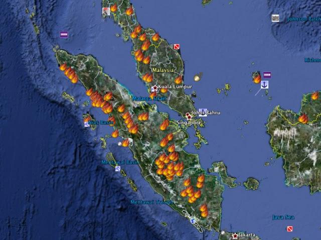 BNPB : Hospot Berkurang Tapi Jarak Pandang Tetap Buruk