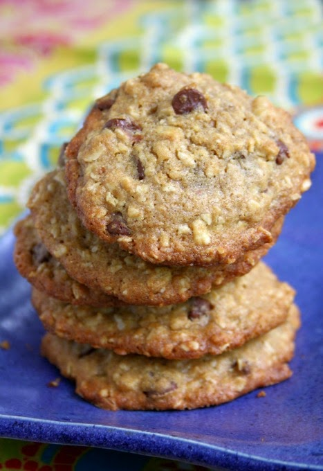 old fashioned oatmeal chocolate chip cookie recipe