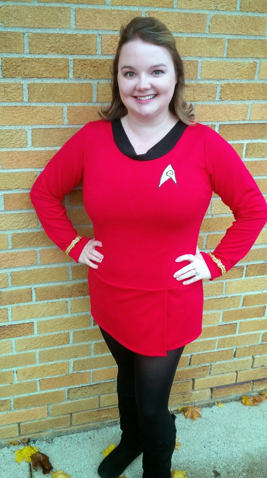 Homespun Luxe: Happy Halloween 2014: DIY Original Star Trek Female ...