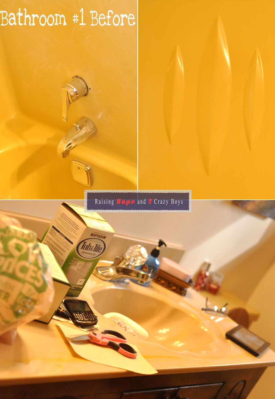 Raising Hope: {DIY: Rust-Oleum Tub and Tile Refinishing Kit}