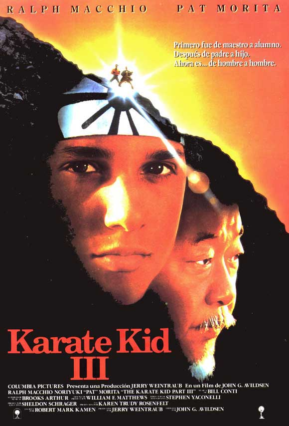 The Karate Kid 2 Movie Poster Other than the first movie