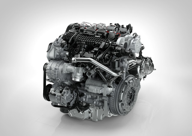 New Volvo T6 petrol engine