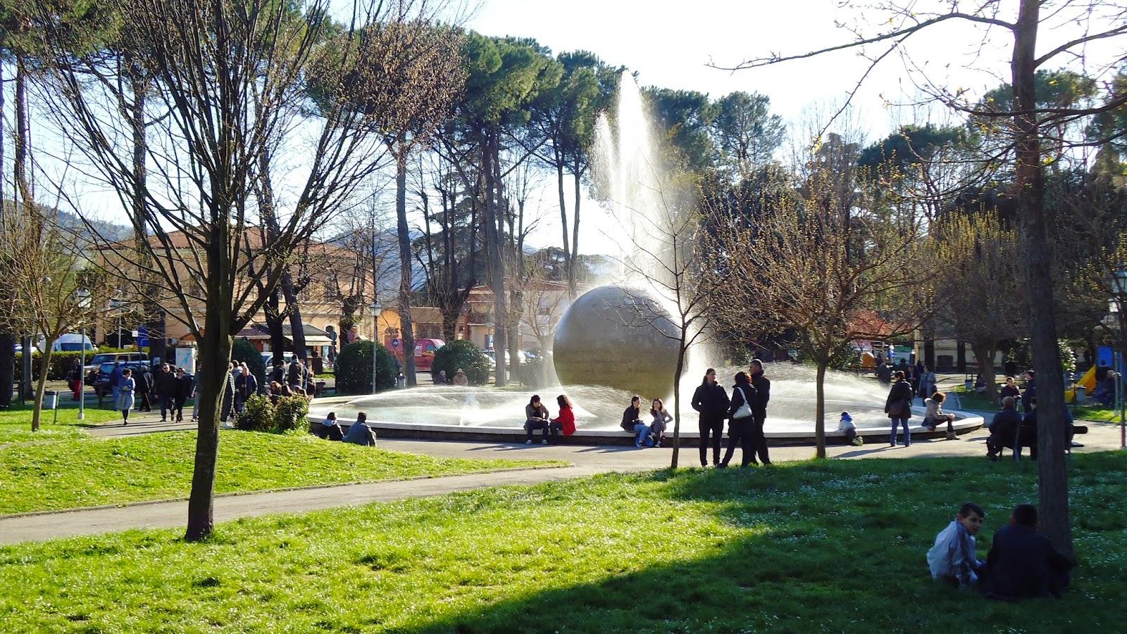 Brisighella, Parco delle rimembranze - Foto di Monica Gatti La gatita sotto le due torri blog