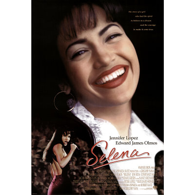 Movies  Jennifer Lopez on Selena Movie Jennifer Lopez Original Poster Print Jpg
