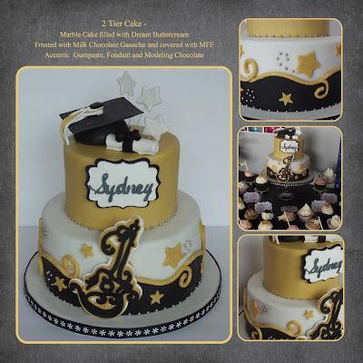 Le Mie Cose Favorites Sydney S Graduation Cake Black