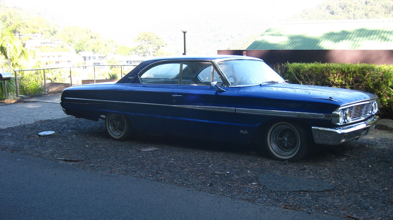 Aussie Old Parked Cars 1964 Ford Galaxie 500 390 Cid 4 Door Hardtop Crew Cab