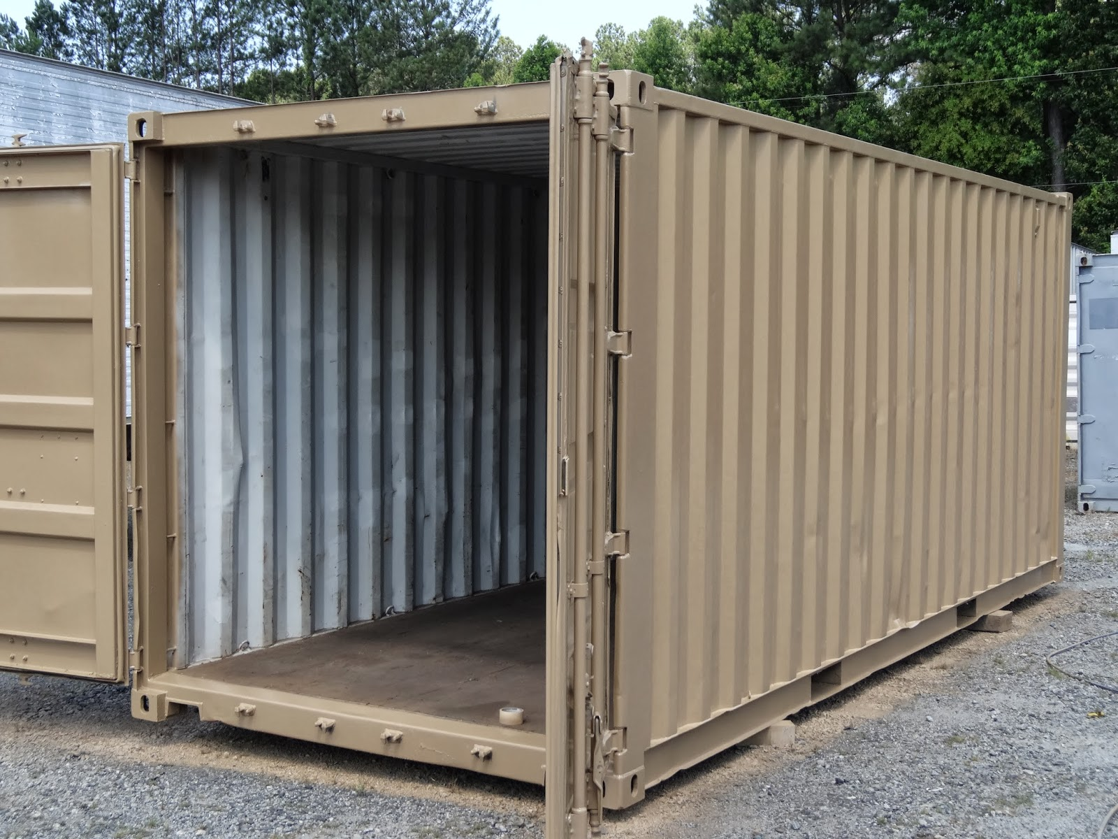 Shipping Container Storage Ideas Part - 42: Buy Used Shipping Containers For Storage.