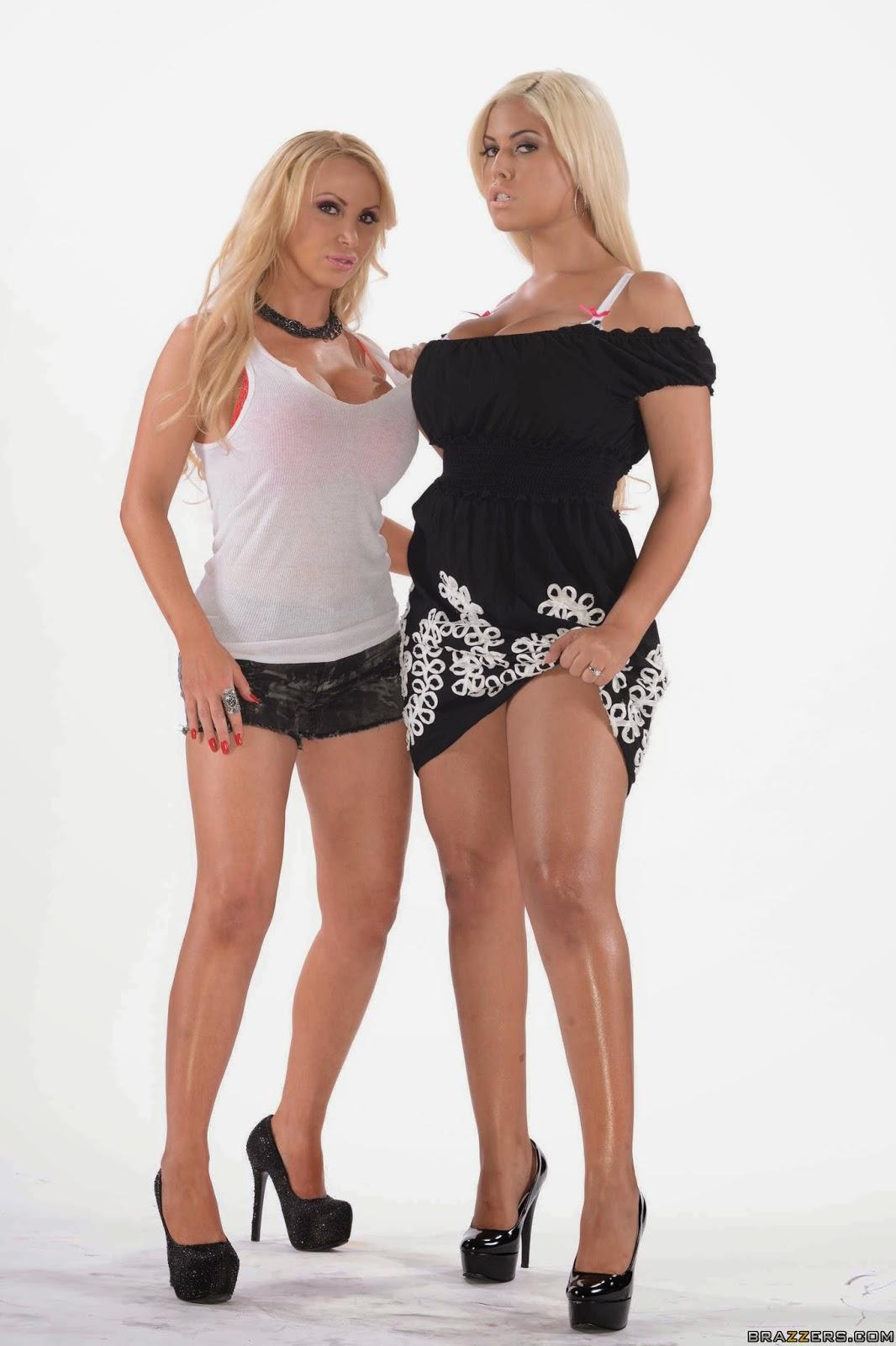 mujeres hermosas: cfnm: Professional Perv. Nikki Benz, Bridgette B ...