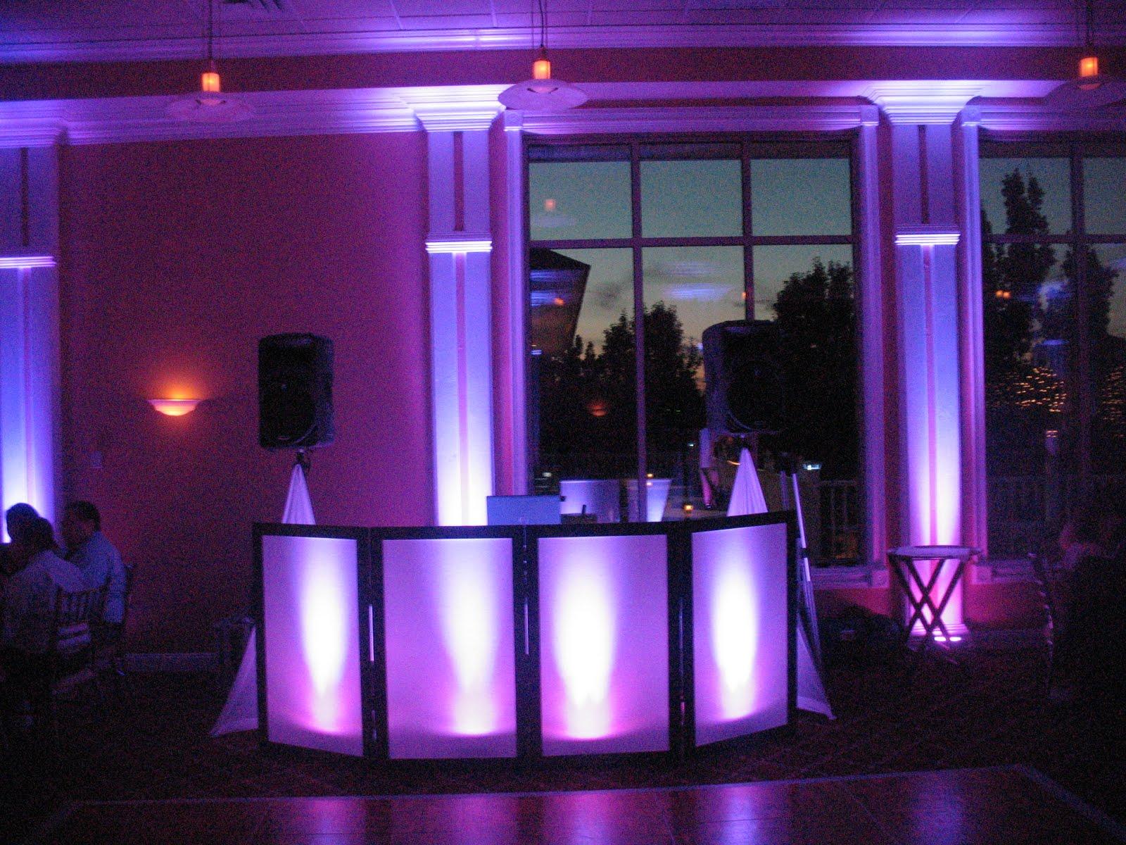 ambient dj service  wedding at knob hill golf club