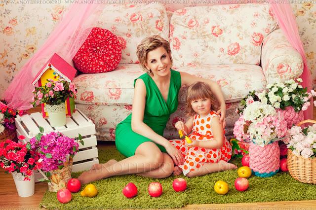 фотосессия с дочкой