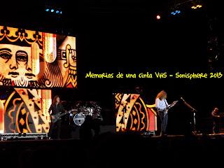 Megadeth, Sonsphere