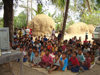 villagers involve with community heath education
