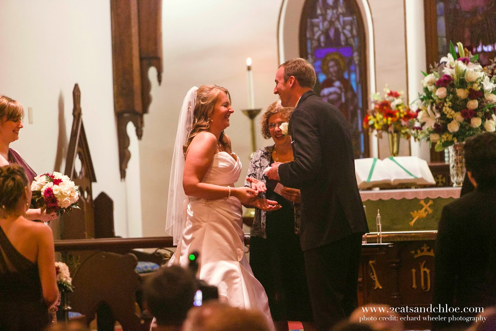 Bride and Groom funny wedding ceremony moments