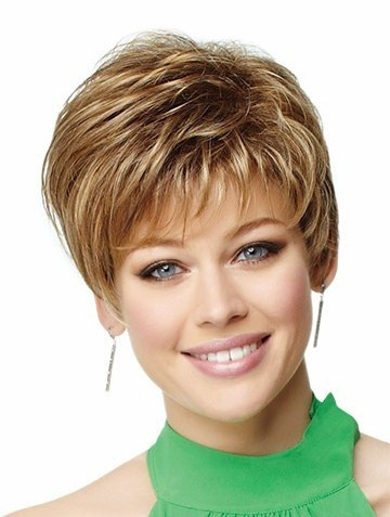 Short Medium Blonde and Brown Hairstyles Ideas for Young Women
