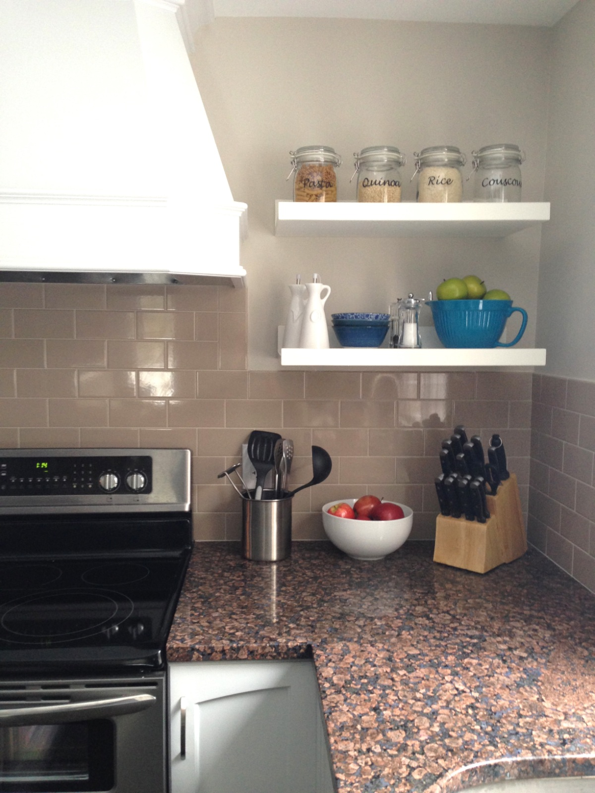 Home With Baxter Kitchen Table Shelves And Light Fixture