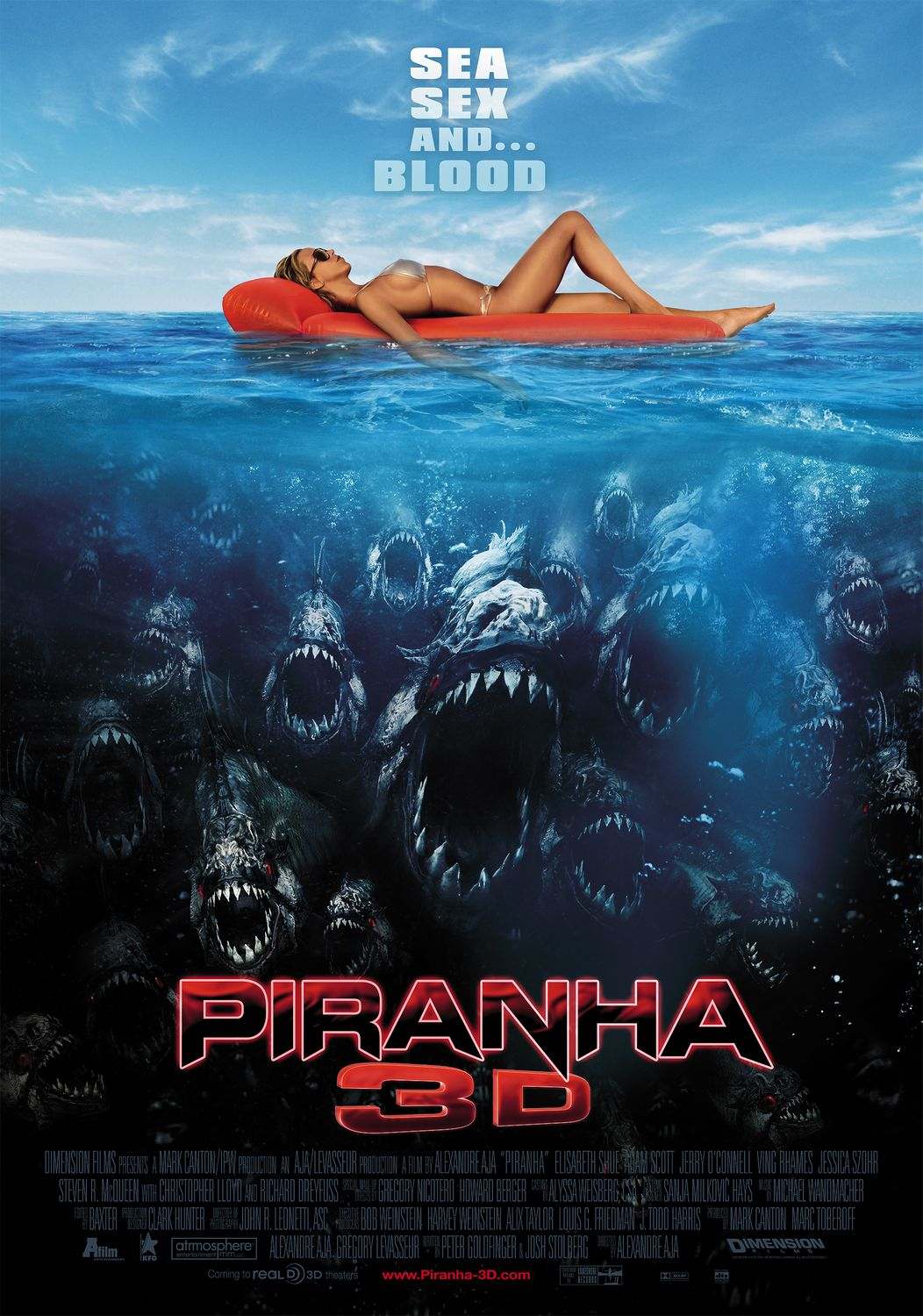 piranha 3d sea sex blood poster12 talk during sex. Credit: Getty Images