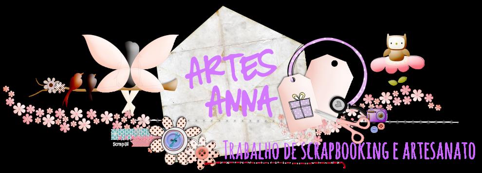 ArtesAnna - Trabalhos de artesanato e Scrap