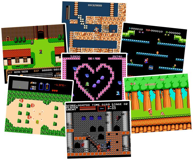 Nintendo NES Emulator for Windows + 150 Best Games Roms ...