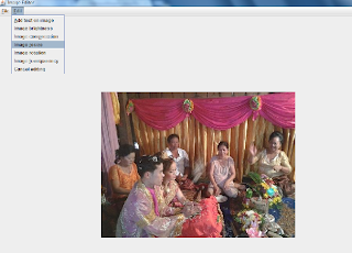 Image editor in Java