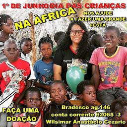 DIA 01 DE JUNHO - DIA DAS CRIANÇAS NA ÁFRICA.
