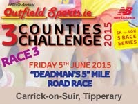 5 mile road in Carrick-on-Suir...Fri 5th June