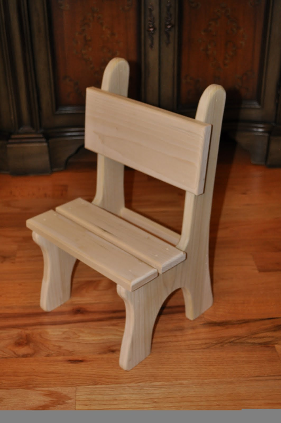 Handmade Wooden Children 39 S Chairs Bring Kareen Home
