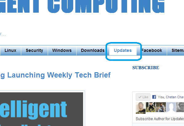 Find Weekly Updates Here: Intelligent Computing