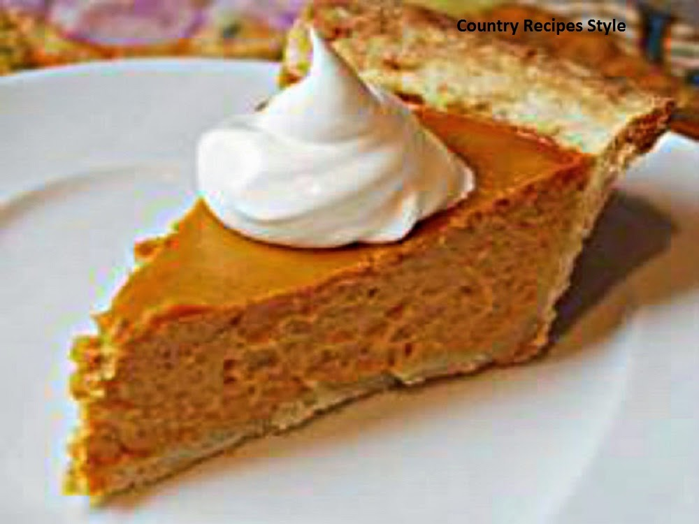 Delicious Sweet Potato Pie Country Recipes Style