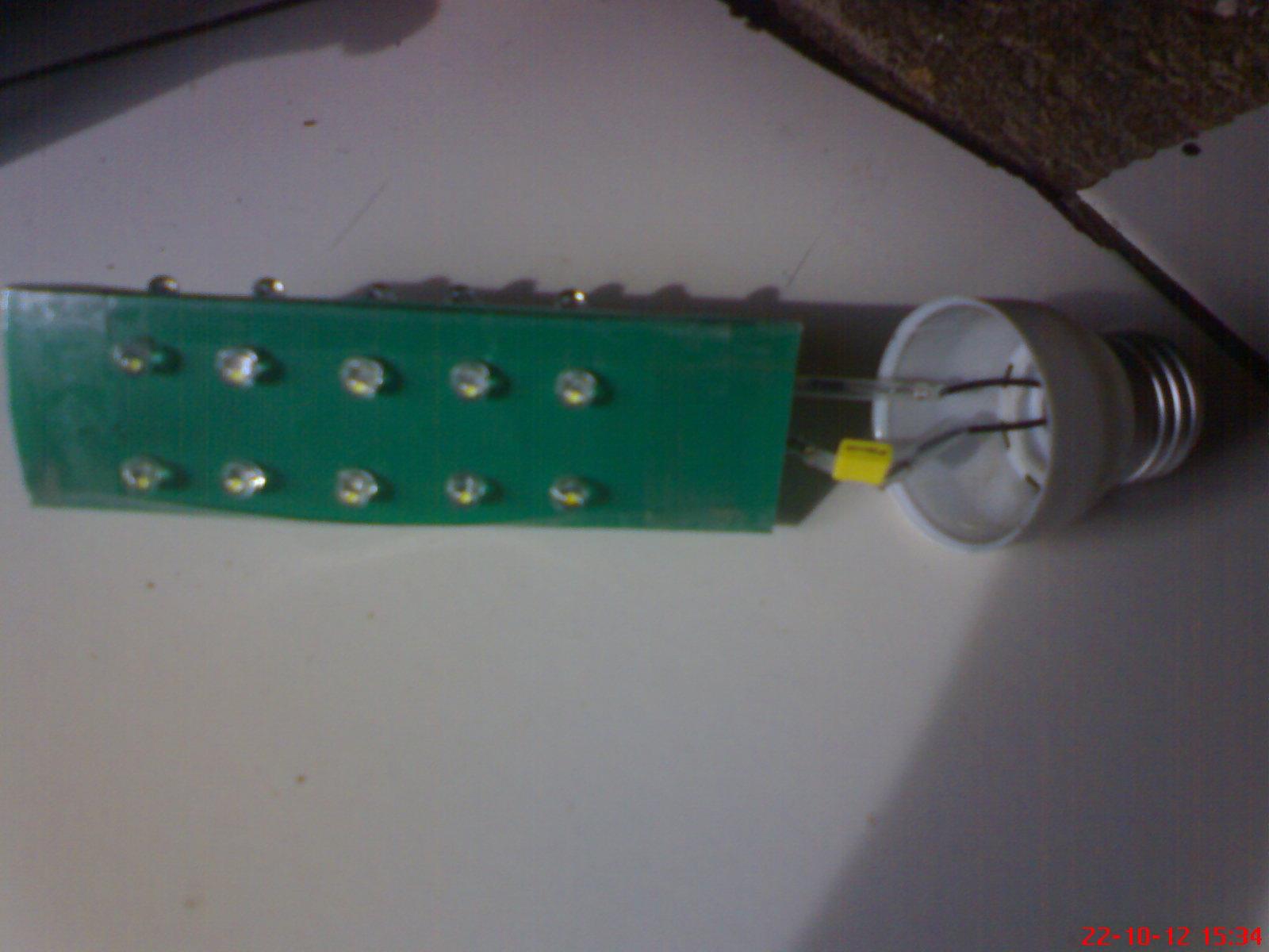 COMMUNITY GO GREEN (CGG): MEMBUAT LAMPU HEMAT ENERGI DARI LED AC 220 V ...